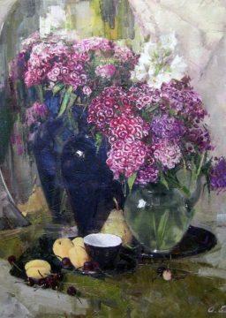 Black Flower Bowl | Bogachev Andrey